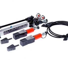 فلنج بازکن ناخنی هیدرولیکی پرتابل 700 بار فشار قوی با ظرفیت 0.9 تن مدل SJS-Range ساخت هایفورس انگلستان
