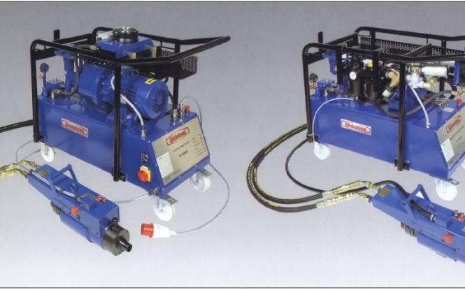تیوب پولر تمام اتوماتیک هیدرولیکی پنوماتیکی (بادی) با ظرفیت 30 تن مدل TP-2000P ساخت ویکستید انگلستان